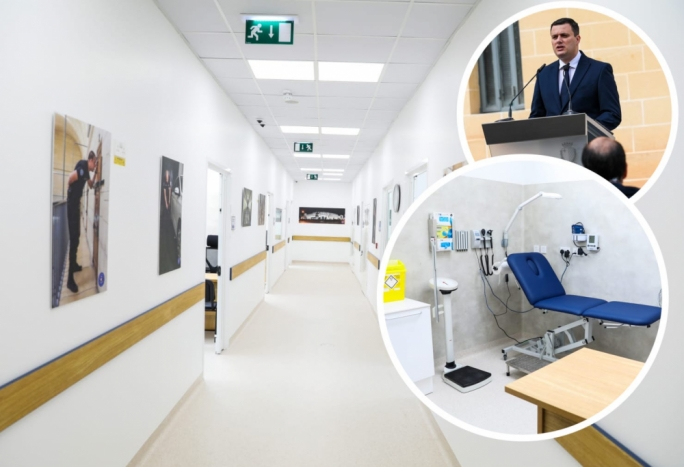 Home Affairs Minister Byron Camilleri says the new health centre within the Corradino Correctional Facility will cut down outside medical visits