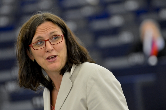 Malmström: 'On refugees, solidarity between EU states still largely non-existent'