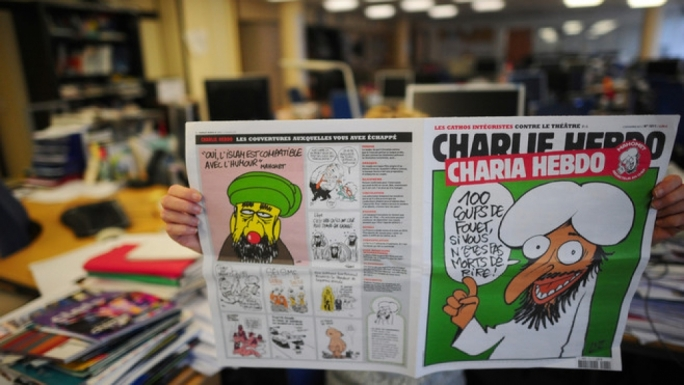 A special 'Shari'a' edition of Charlie Hebdo. The satirical newspaper took on all sacred cows.
