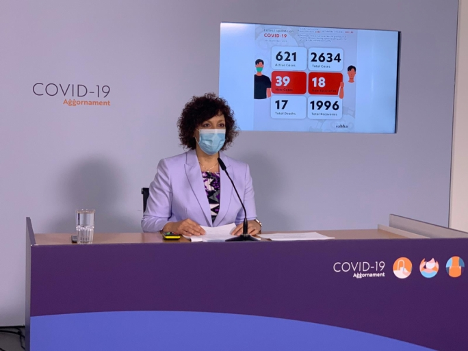 [LIVE] Public Health Superintendent Charmaine Gauci delivers COVID-19 briefing