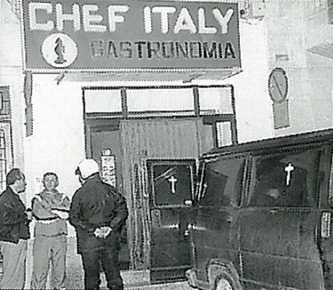 The Chef Italy restaurant in St Julian's, where Vittorio Cassone was shot dead in 1993