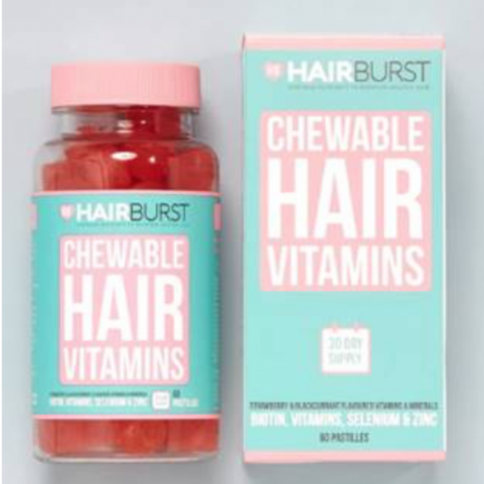 The consumer affairs authority has issued a health warning for chewable hair vitamins produced by Hairburst, UK