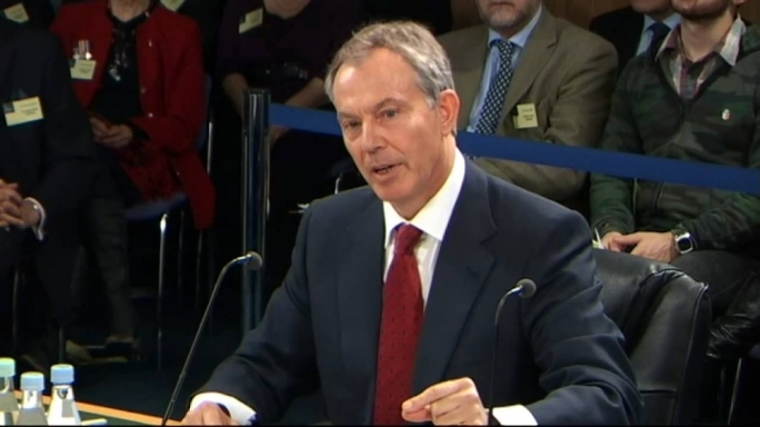 Then Labour prime minister Tony Blair appeared before the panel twice