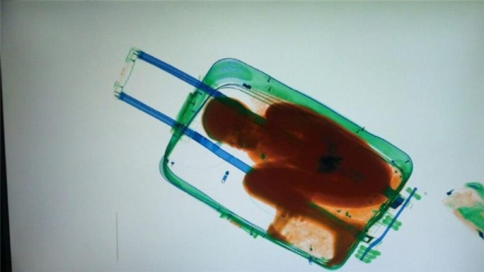 Ivorian child smuggled to Spain in suitcase