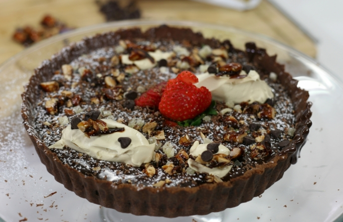[WATCH] Chocolate coffee tart