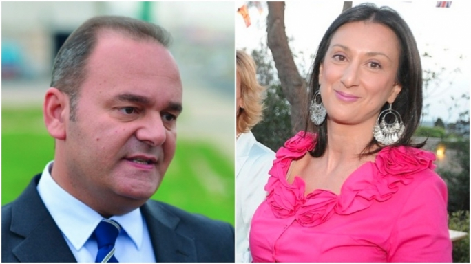 Economy Minister Chris Cardona and his aide filed four libel cases against Daphne Caruana Galizia