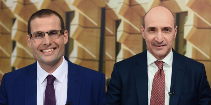 Labour leadership hopefuls Robert Abela and Chris Fearne promise better governance
