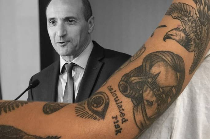 96a70ef7ce686 Health Minister Chris Fearne has unveiled a public consultation on new  rules for tattoo artists