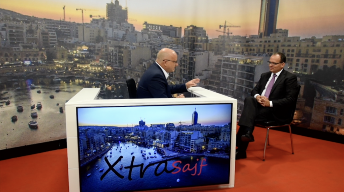 Chris Said was interviewed by Saviour Balzan on XtraSajf