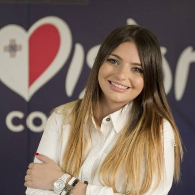 Christabelle Borg is Malta's Eurovision representative in Lisbon