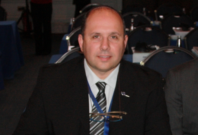 President Tonio Cini at the FIA General Assembly