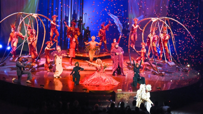 Cirque du Soleil will perform 28 shows over six weeks in November and December