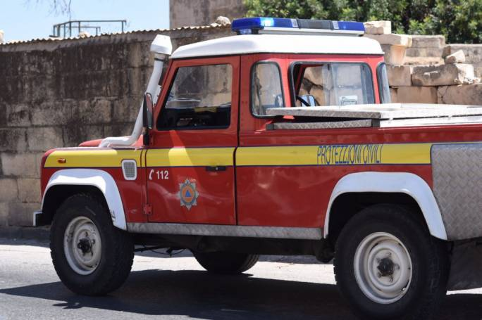Vacant Sliema residence catches fire