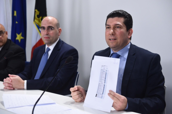 PN Secretary General Clyde Puli says the party will not accept the electronic vote counting system in its current form. (Photo: James Bianchi/MediaToday)