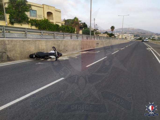 Man seriously injured in traffic accident