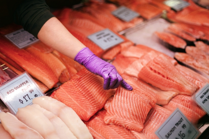Eating local and seasonal fish has a much smaller impact than eating fish which has been imported from Northern Europe like salmon