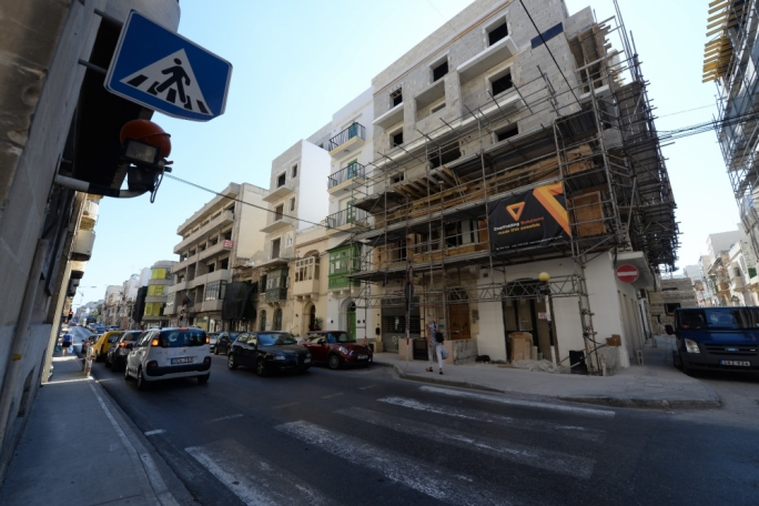 Building site inspections in Gżira, St Julians and Sliema reveal majority had irregularities