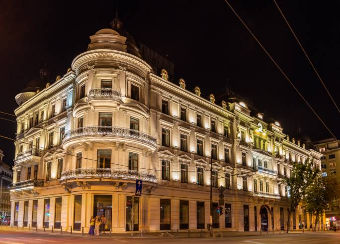 The former Grand Hotel du Boulevard in Bucharest will re-open as a Corinthia hotel in 2019