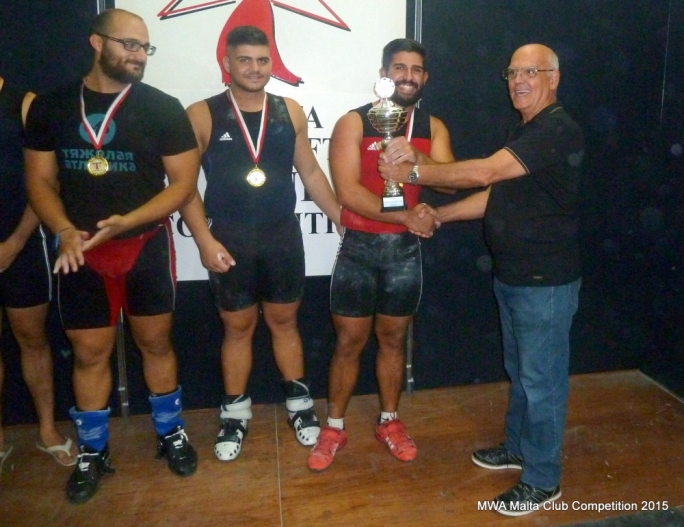 Cottonera HPC receives their first place trophy