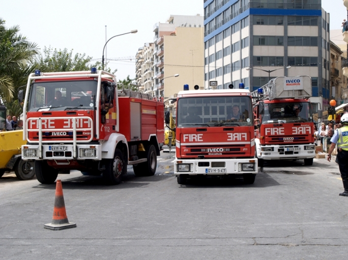 Man injured as crane overturns in Swieqi