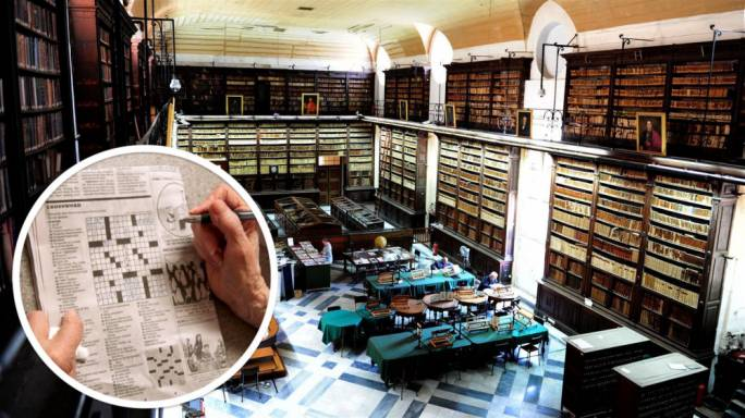 National Library lifts ban for pensioner who stole London Times's crossword pages