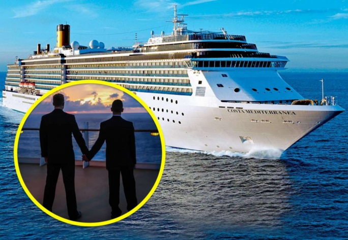 Getting married on a cruise liner or boat was a popular thing to do last year