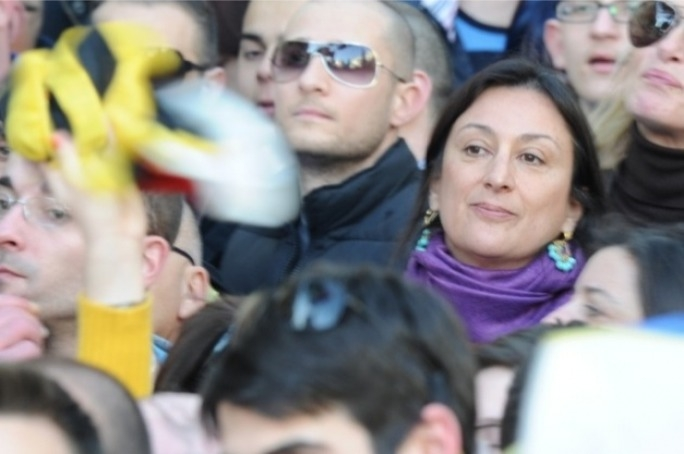 Daphne Caruana Galizia has claimed a source saw Chris Cardona inside a brothel, in Velbert, Germany.