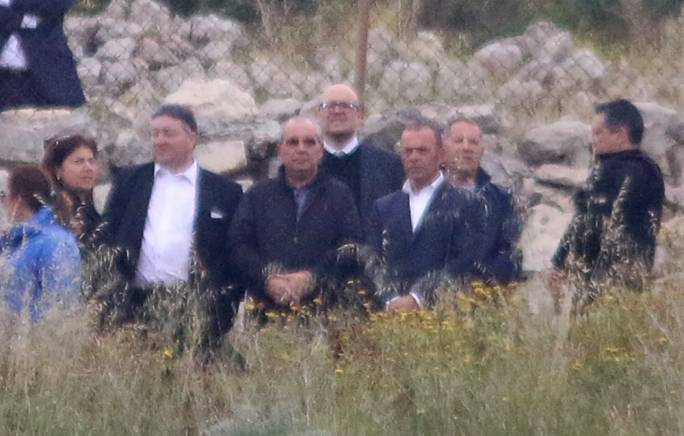 [SLIDESHOW] Murder suspects back on the scene of the crime where Caruana Galizia was murdered