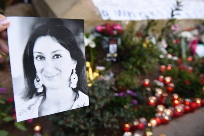Daphne Caruana Galizia's laptop was held from the police
