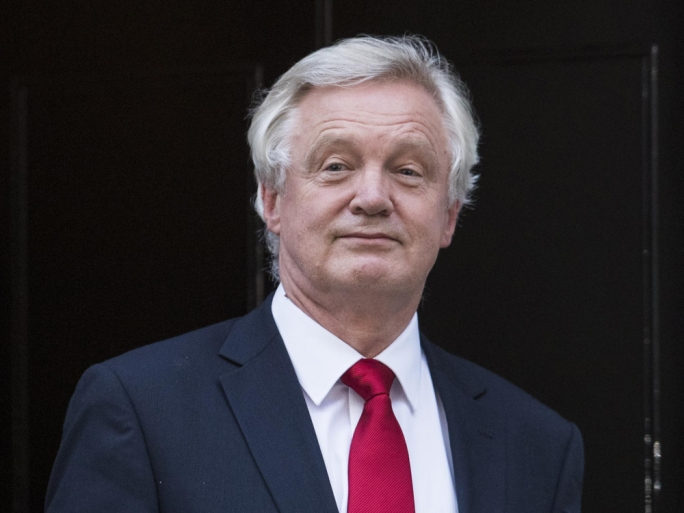 David Davis announced his resignation late last night
