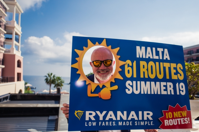 Ryanair announces 10 new destinations from Malta