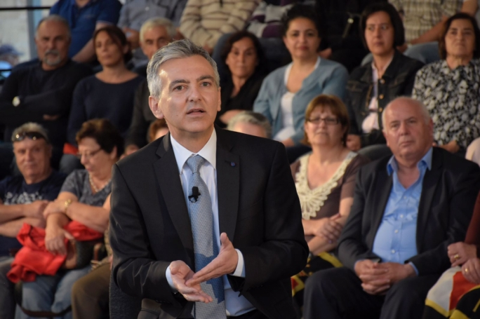 On Day 3 of the election campaign, PN leader Simon Busuttil address party faithful in Gozo(Photo: James Bianchi/MediaToday)