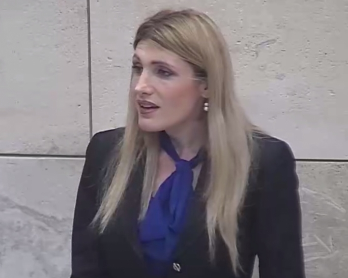 Opposition MP Kristy Debono warned that Malta's economy could be too reliant on volatile markets