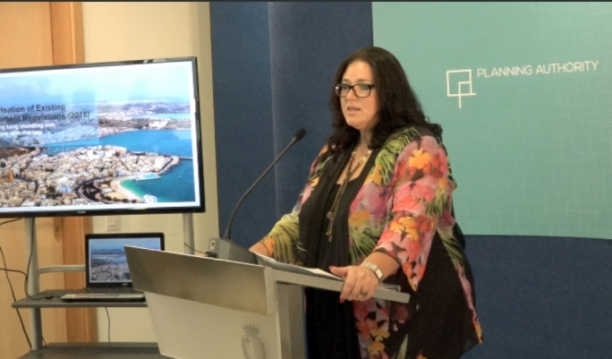 Parliamentary secretary for Deborah Schembri launches two-year amnesty for planning irregularities