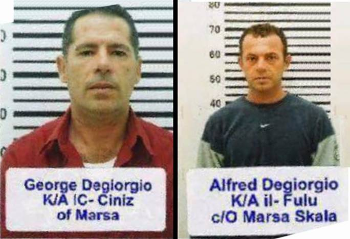The Degiorgio brothers, as well as George Degiorgio's partner, were investigated after the murder of Daphne Caruana Galizia