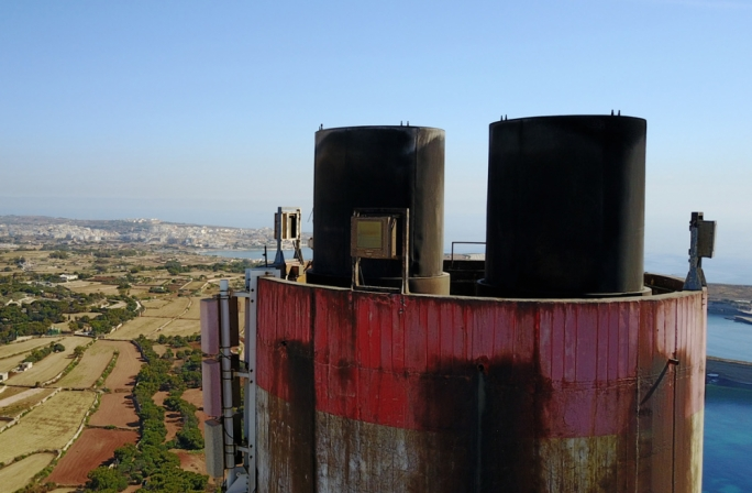 Delimara chimney set for demolition this summer