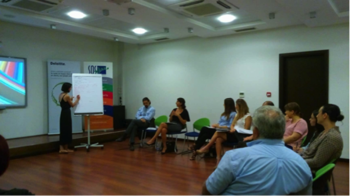 Deloitte Malta and SOS Malta, together with the support of the Core organised a workshop to address these barriers by using a targeted social media and information campaign