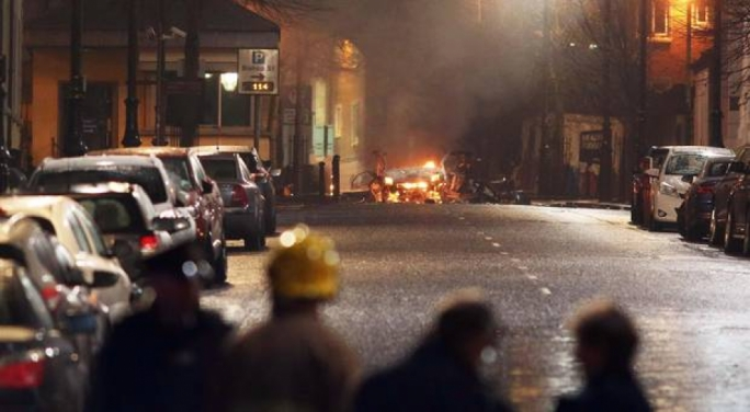[WATCH] Police believe 'New IRA' behind car bomb in Northern Ireland