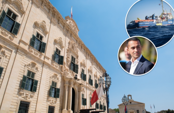 The Maltese goverment has rejected claims by the Italian deputy prime minister, that it had turned its back on the rescued migrants
