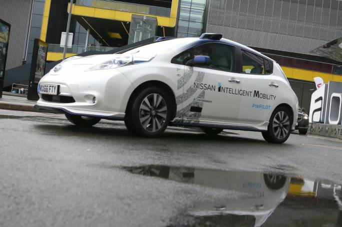 Driverless cars could be on UK roads by next year (Source: Peter Nicholls / Reuters)