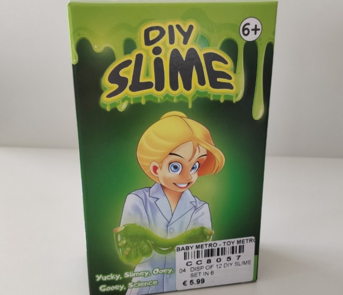 Children's DIY Slime recalled over chemical that damages reproductive system