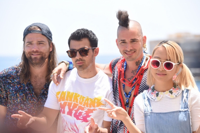 Pop band DNCE (Photo: James Bianchi/MediaToday)