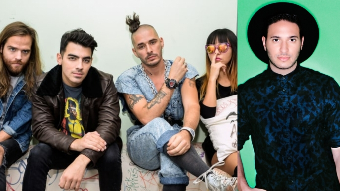DNCE (L) and Jonas Blue will be performing at this year's Isle of MTV music festival