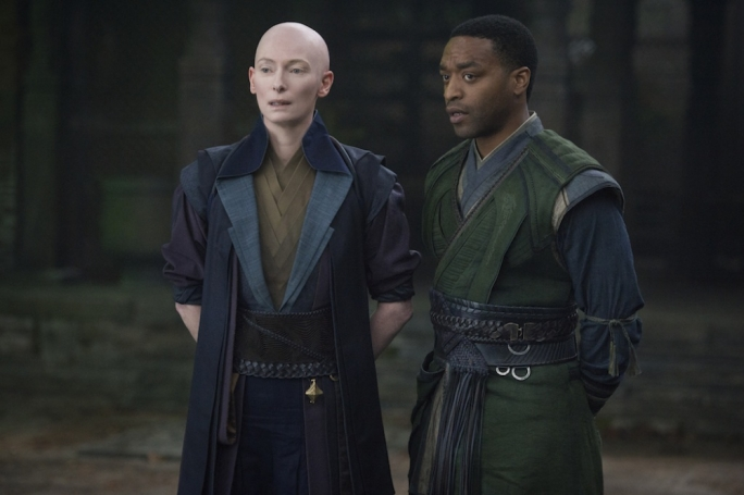 Master and apprentice: Tilda Swinton and Chiwetel Ejiofor