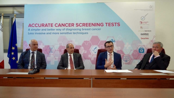 [WATCH] Maltese scientists develop increased precision breast and intestinal cancer screening methods