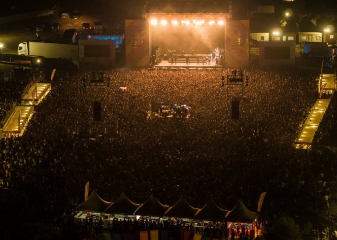 Some 20,000 people flocked to Ta Qali for the first day of the Summer Daze festival