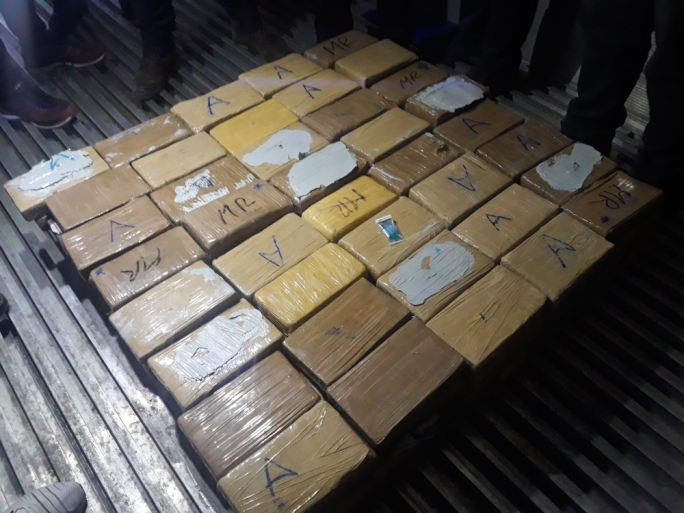 The cocaine had an estimated street value of €15.7 million