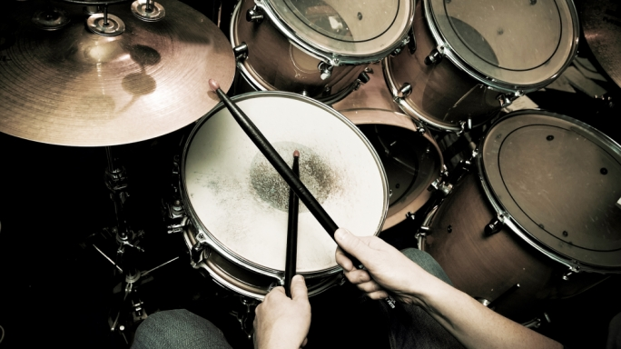 Man charged with stealing drum kit and other equipment from band's garage