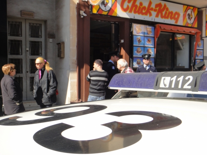 Robbery from Mosta take-away