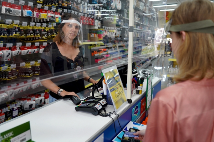 Stephanie Frasson, a sales representative at the Bureau Vallée stationery in San Gwann, says since COVID-19 more people are likely to use a contactless card or mobile phone payment